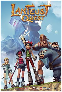Lanfeust Quest on home books