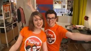 The Twins Podcast – New Enjoy English 4